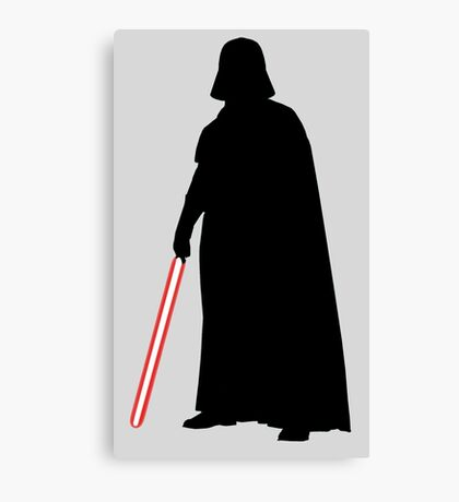 Star Wars Darth Vader Black Canvas Print