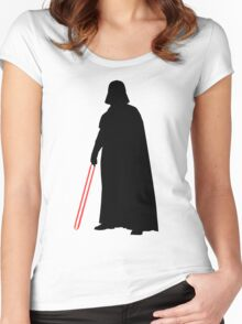 Star Wars Darth Vader Black Women's Fitted Scoop T-Shirt