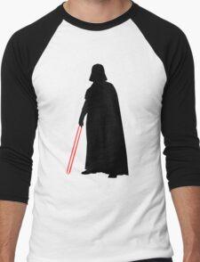 Star Wars Darth Vader Black Men's Baseball ¾ T-Shirt