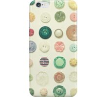 The Button Collection iPhone Case/Skin