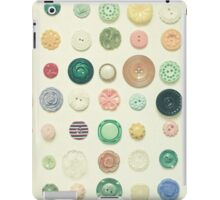 The Button Collection iPad Case/Skin