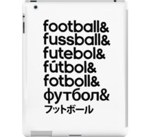 Football iPad Case/Skin