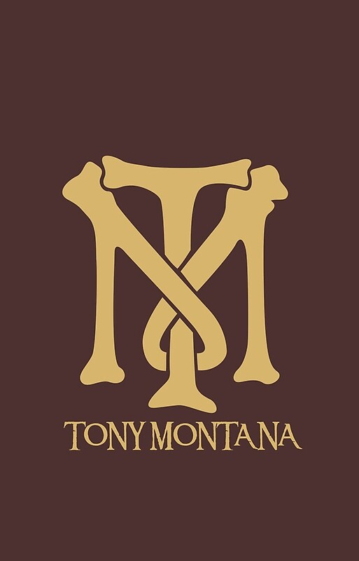 Quot Tony Montana Logo Quot Iphone Cases Amp Skins By Yasin17