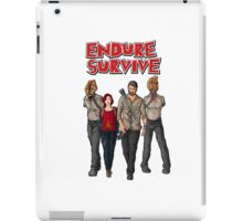 Endure Survive iPad Case/Skin