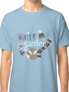Winter garden pattern 002 Classic T-Shirt