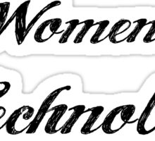 Women in Technology Sticker