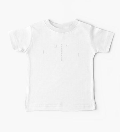 Chip-8 Pong Baby Tee