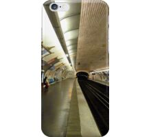 The next train in 3 minutes iPhone Case/Skin