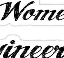 Women in Engineering Sticker