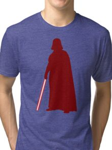 Star Wars Darth Vader Red Tri-blend T-Shirt