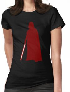 Star Wars Darth Vader Red Womens Fitted T-Shirt
