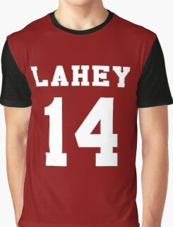 Lahey 14 - White ink Graphic T-Shirt