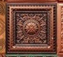 copper tiles Sticker