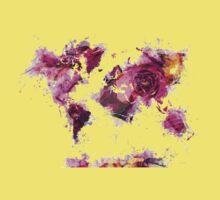 World Map 2044 Kids Tee
