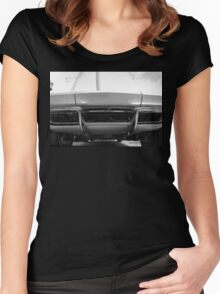 Sting Ray Nose Women's Fitted Scoop T-Shirt