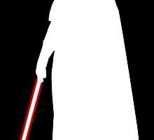 Star Wars Darth Vader White by fn2187
