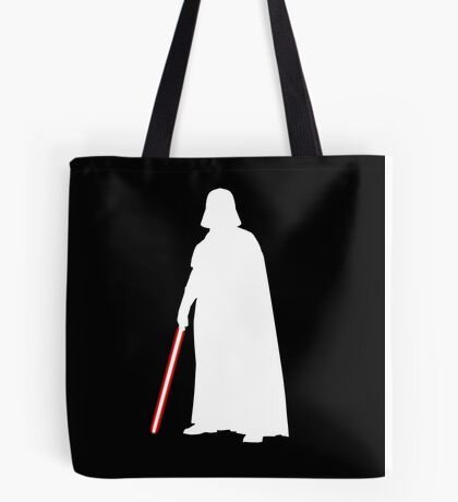 Star Wars Darth Vader White Tote Bag