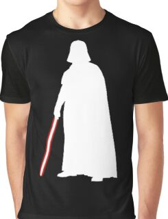 Star Wars Darth Vader White Graphic T-Shirt