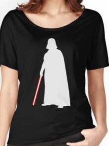 Star Wars Darth Vader White Women's Relaxed Fit T-Shirt