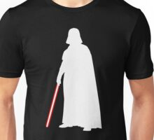 Star Wars Darth Vader White Unisex T-Shirt