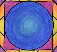 Stained Glass Mandala Sticker