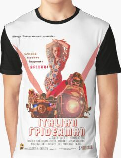 Italian Spiderman Poster - ONE:Print Graphic T-Shirt