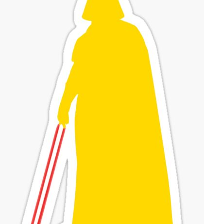 Star Wars Darth Vader Yellow Sticker