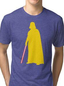 Star Wars Darth Vader Yellow Tri-blend T-Shirt