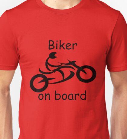 Biker on board 5 Unisex T-Shirt