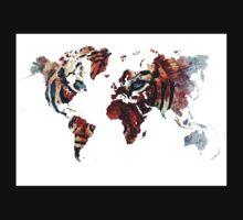 World Map 2067 Baby Tee