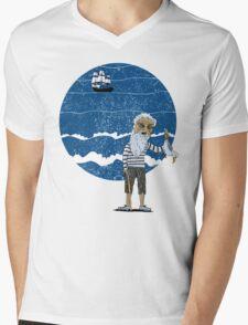 The Ancient Mariner Mens V-Neck T-Shirt