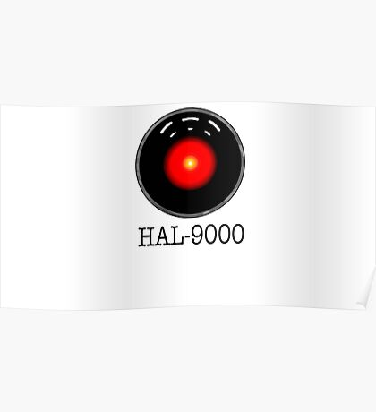HAL- 9000 Poster