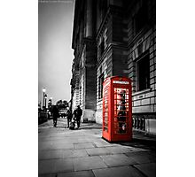Iconic London Telephone box Photographic Print