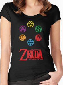 The Ocarina of Time  Women's Fitted Scoop T-Shirt