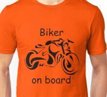 Biker on board 4 Unisex T-Shirt