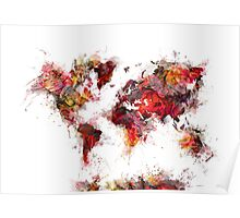 World Map 2046 Poster