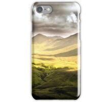 Up To The Mountains iPhone Case/Skin
