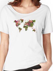 World Map 2059 Women's Relaxed Fit T-Shirt