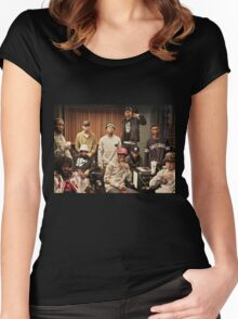 Pro era (Joey Bada$$, Capital Steez) Women's Fitted Scoop T-Shirt