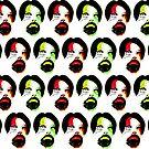 Phantom Hipster Duvet Cover by GolemAura