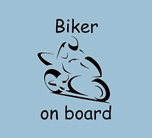 Biker on board 2 Unisex T-Shirt