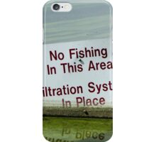 Filtration System in Place iPhone Case/Skin