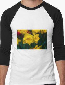 Spring Nectar Men's Baseball ¾ T-Shirt