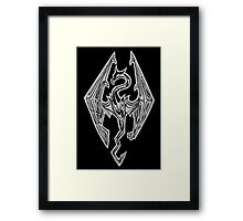 Dragon Of Skyrim (The Elder Scrolls) Framed Print