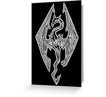Dragon Of Skyrim (The Elder Scrolls) Greeting Card
