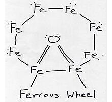 ferrous wheel Photographic Print