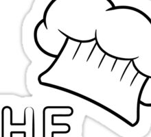 Kiss the chef Sticker