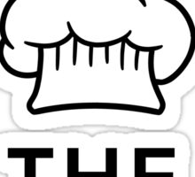 Kiss the cook Sticker