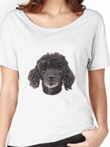 cute little poodle Women's Relaxed Fit T-Shirt