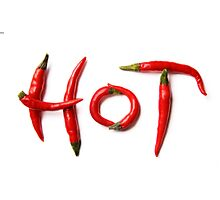 hot chili Photographic Print